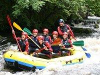 A raft full of fun