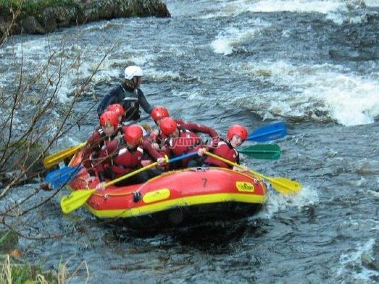 Exhilarating world class rapids