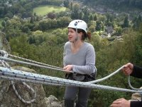 A challenging abseil