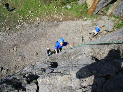 Rock Climbing in Llandysul for Half Day