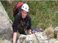 Our skillful climbing instructor