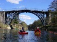 scenic river paddling