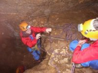 A caving expedition
