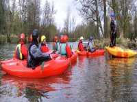 Kayaking instruction