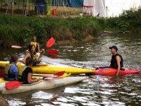 Enjoy kayaking.