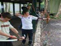 Practice your archery skills.
