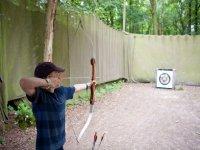 Archery is lots of fun.