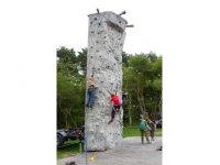 The climbing ground is loads of fun.
