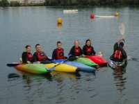 Kayaking is also fun.