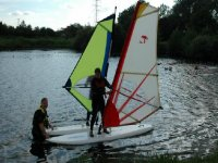Windsurfing is fun for everyone.