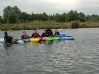 Learn some new kayaking skills.