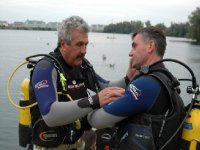 Do some scuba diving in the lake.