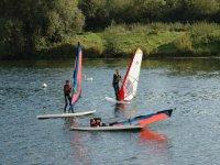 Do some windsurfing.