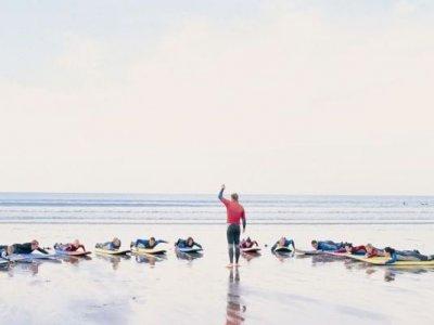 Half Day Surf Lessons Whitesands Beach