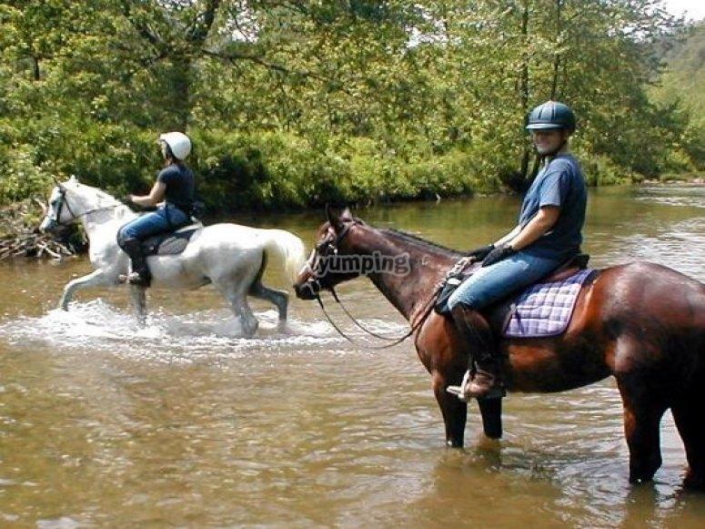 River riding