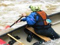 Paddling on the River Teifi