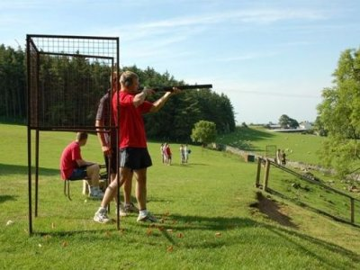 Half Day Clay Pigeon Shooting Pentrecwrt