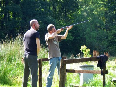 Clay Pigeon Shooting Session in Maerdy Half Day