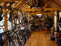 Their fully stocked bike hire shop