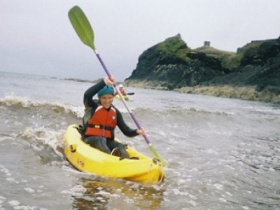 Half Day Sea Kayaking Excursion Porthdafarch Beach
