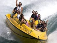 A exhilarating ride on the Jet Boat