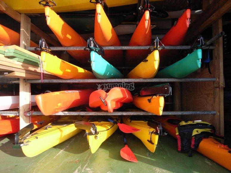 Kayaks!