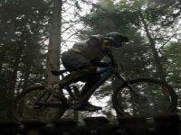 Dirt trail for biking