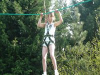 High ropes are great fun.