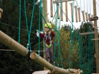 High ropes for under 6's are also available.