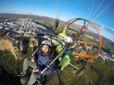 Volar Andalucía Paramotor