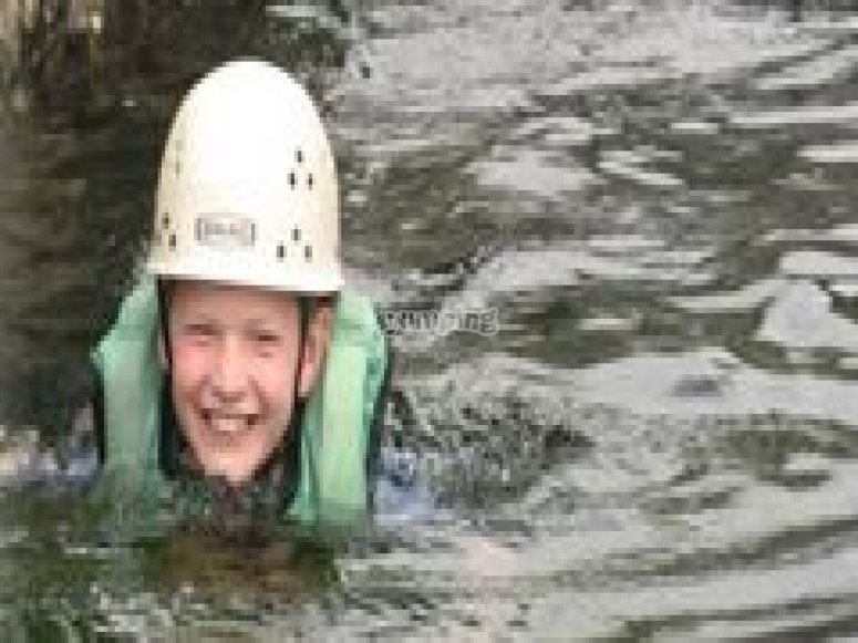 Gorge swimming