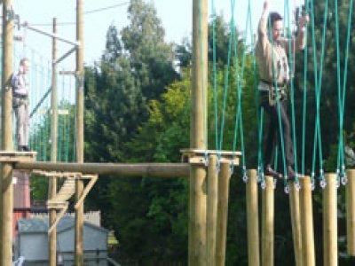 Banham Zoo High Ropes