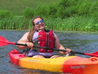 1-seater canoe