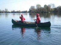 2-seater canoe