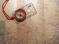 Learn to properly use a map and compass