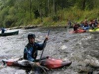 Kayak Surfing