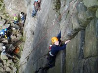 Rock Climbing in Derbyshire