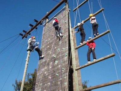 Gilwern Outdoor Education Centre High Ropes