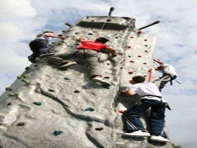 Mountain Monkeys Climbing