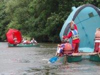 Canoe saling!