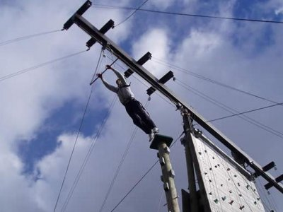 Hilston Park Outdoor Education Centre  High Ropes