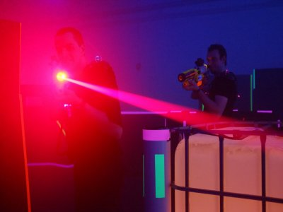 Naturaccion Aljucen Laser Tag