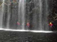 Navigate waterfalls