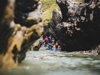 Group coasteering