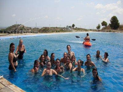 30-min kayaking tour in artificial lake