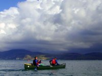 Paddling in Wales