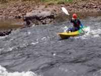 Kayaking the moving waters of the Wye