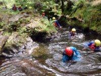 Making their way through the gorge