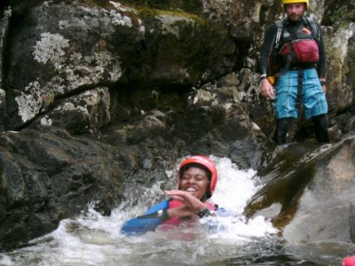Scaladale Canyoning
