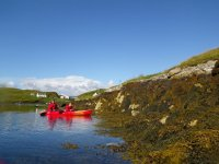 Kayaking in the Isle of Lewis.